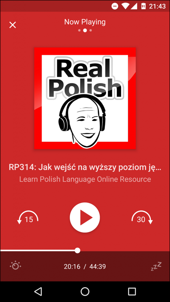Real Polish podcast screenshot