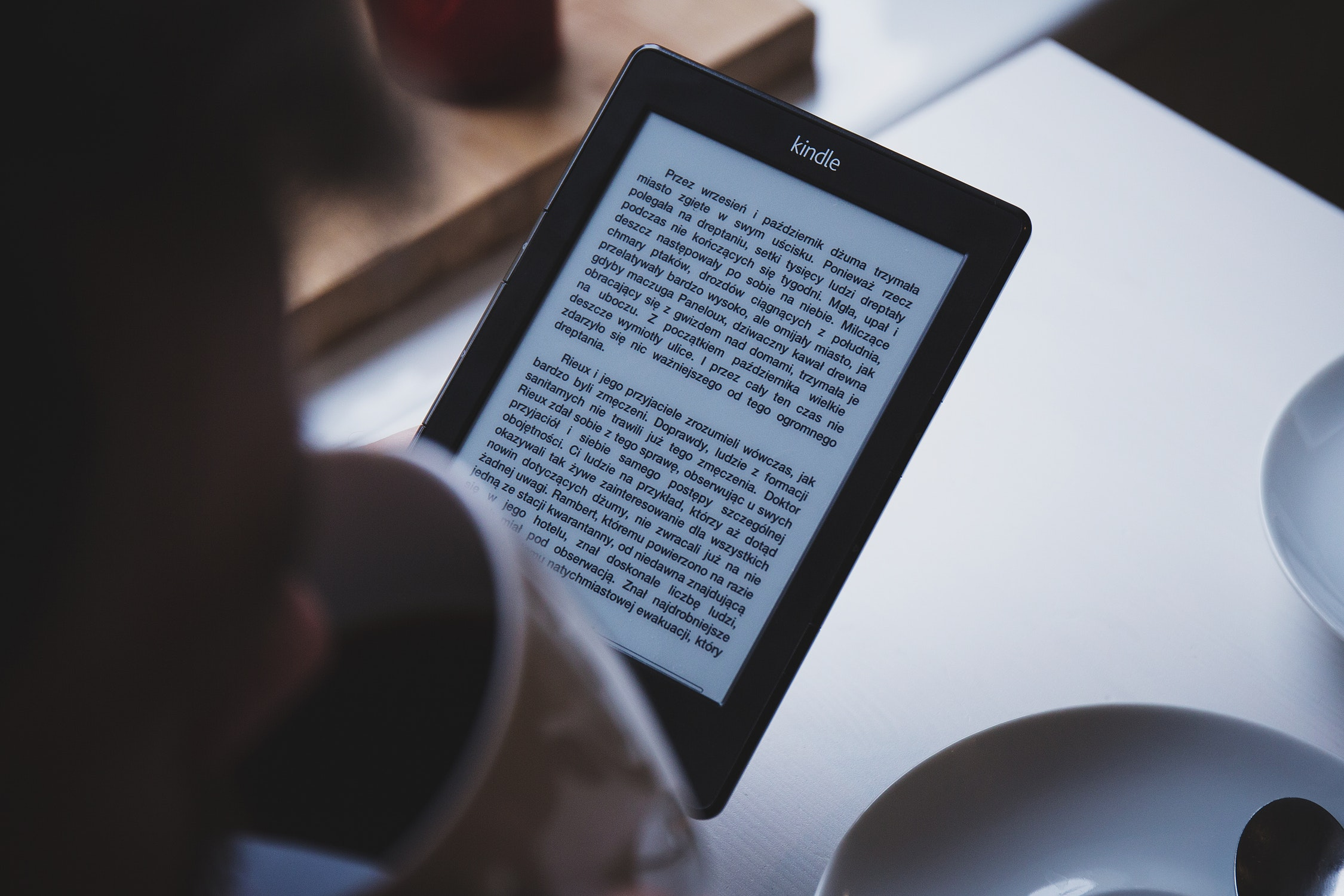 Reading Polish books on an e-book reader
