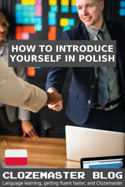 how do you say nice to meet you in polish