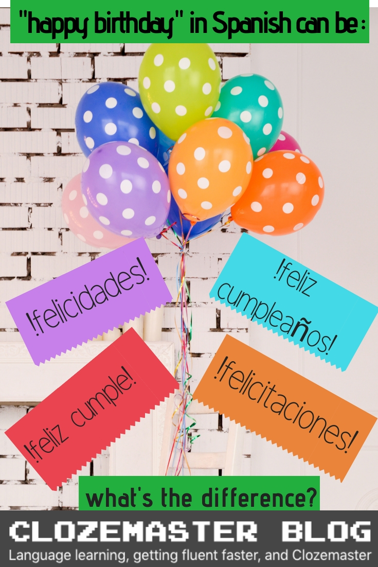 Happy Birthday In Spanish.How To Say Happy Birthday In Spanish Useful Phrases And